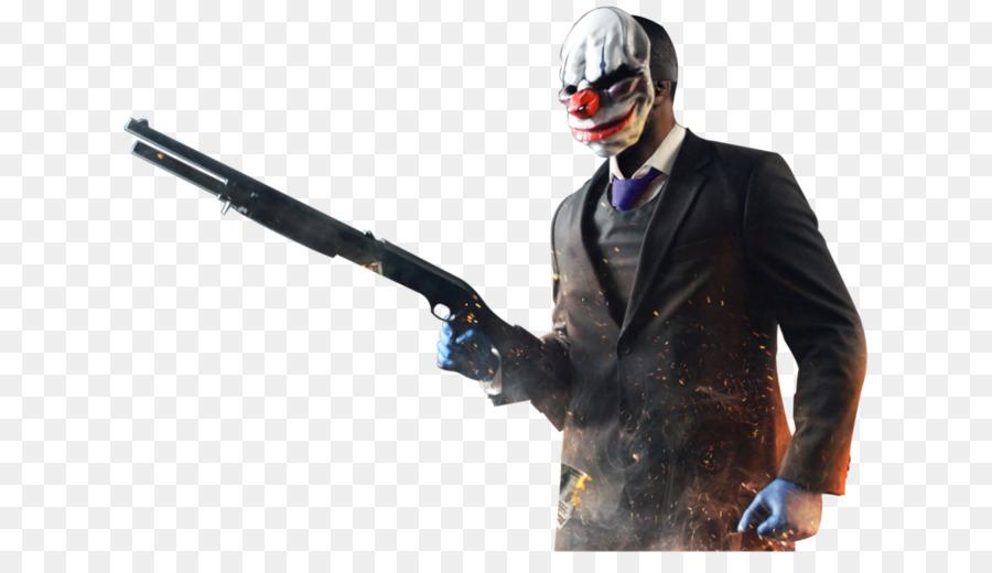 Payday 2 Joker png download - 1024*576 - Free Transparent