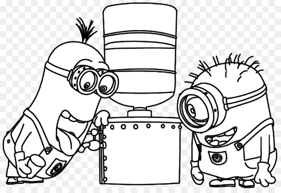 Coloring book Drawing Painting Jimmy Five Minions - painting png ...