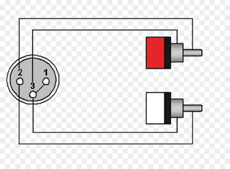 diagram, xlr connector, rca connector, square, angle png
