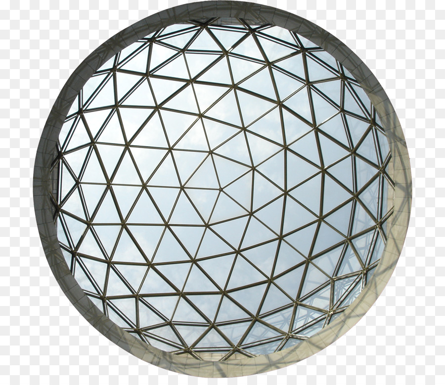Geodesic dome Photography Building - Roof top view png download ...