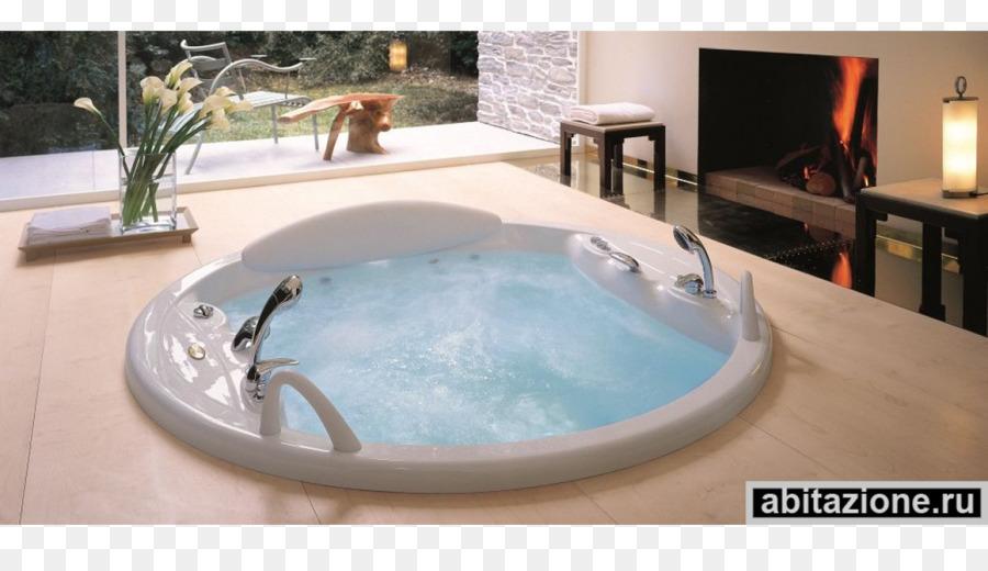 Hot tub bathtub modern bathroom window bathtub png download