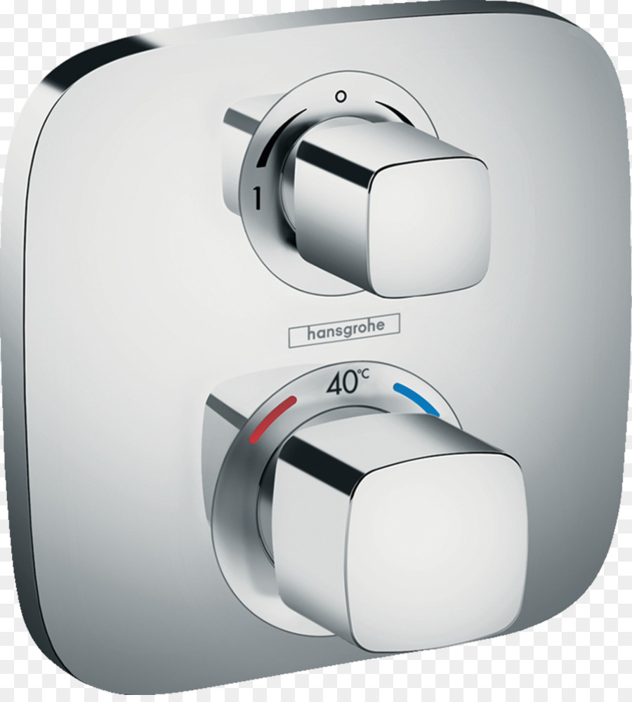 Thermostatic mixing valve Shower Hansgrohe Bathroom - shower png ...
