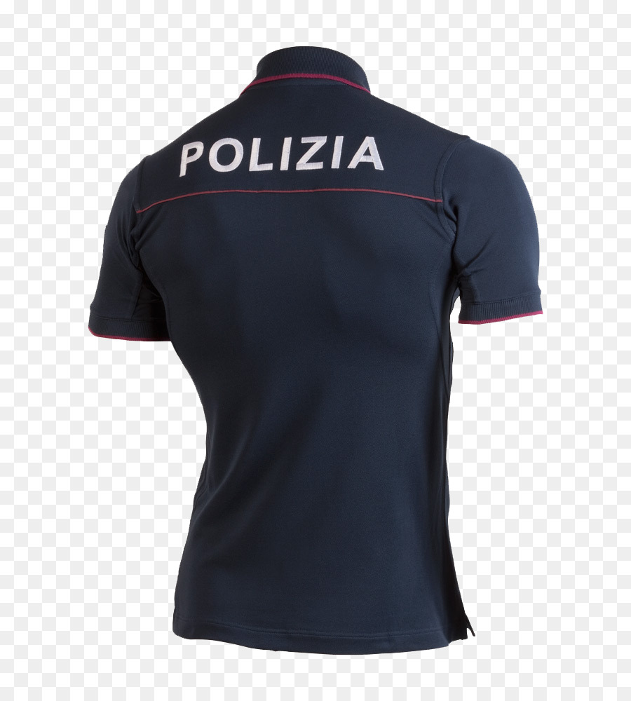 Polo shirt T-shirt Polizia di Stato Law enforcement in Italy Police ...