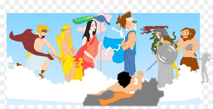 Hera Zeus Bibliotheca Ares Hermes Keluarga Unduh Kartun Seni