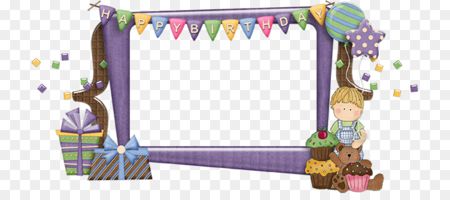 Birthday cake Picture Frames Happy Birthday to You - CLUSTER FRAME ...