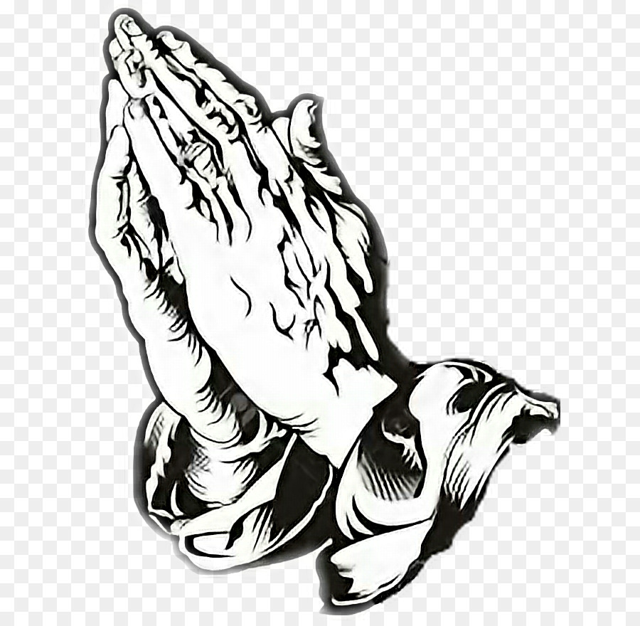 Praying Hands Prayer Drawing Others Png Download 676872 Free