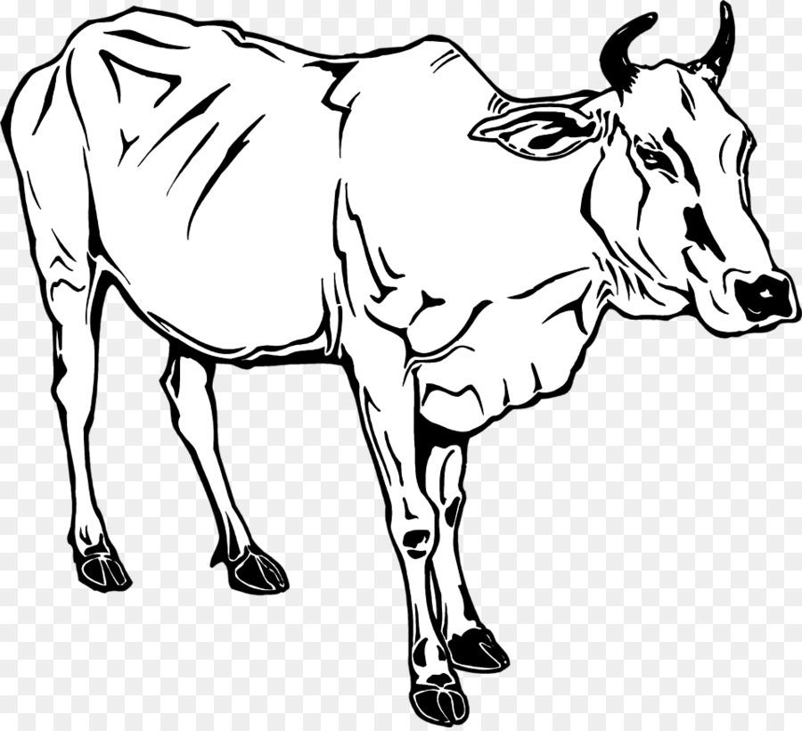 Dairy Cattle Ox Water Buffalo Clip Art