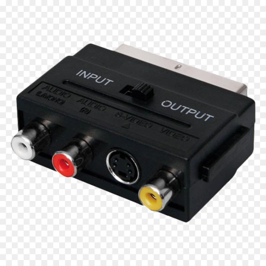 Adaptor Rf Modulator Listrik Kabel Scart Konektor Rca Lain