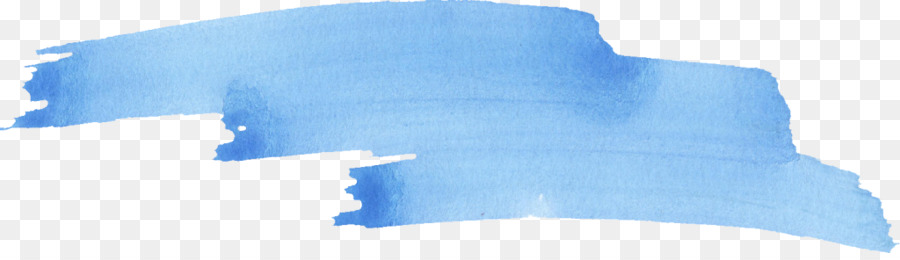 Blue Watercolor Painting Brush Blue Stroke Png Download
