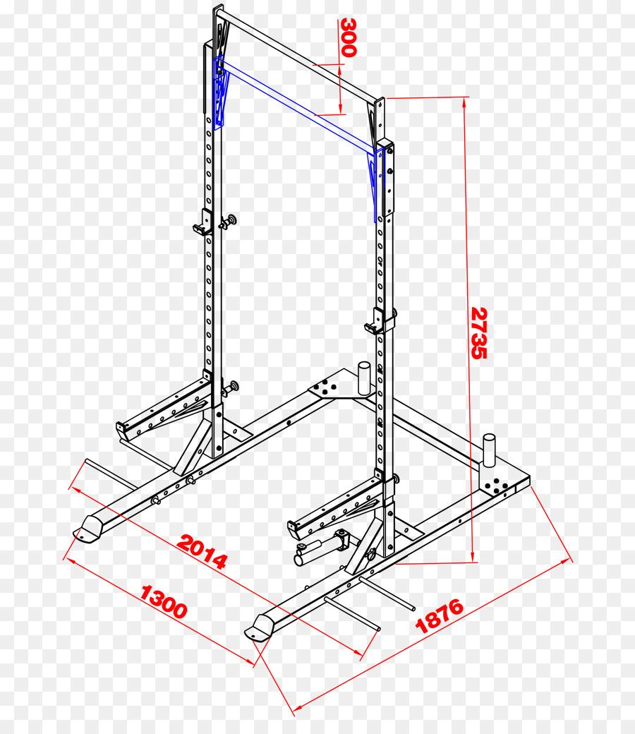 Rack de potencia Gimnasio máquina Smith Ejercicio de Sentadilla ...