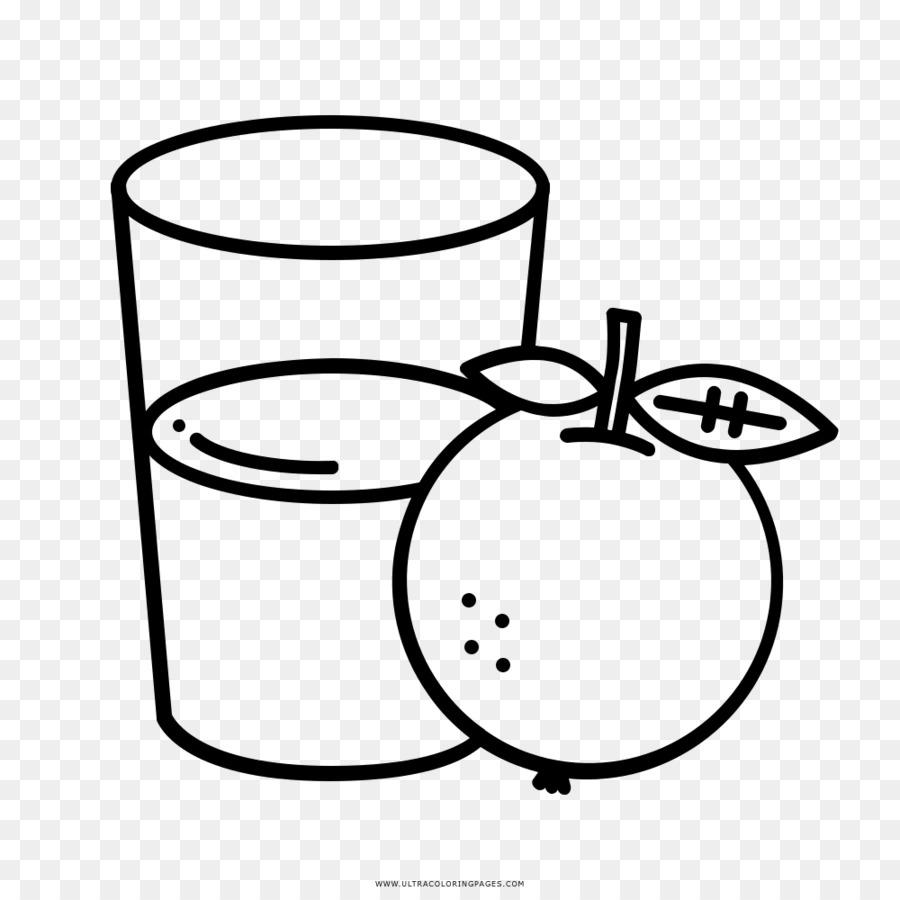 Jugo de naranja libro para Colorear, Dibujo de - jugo Formatos De ...