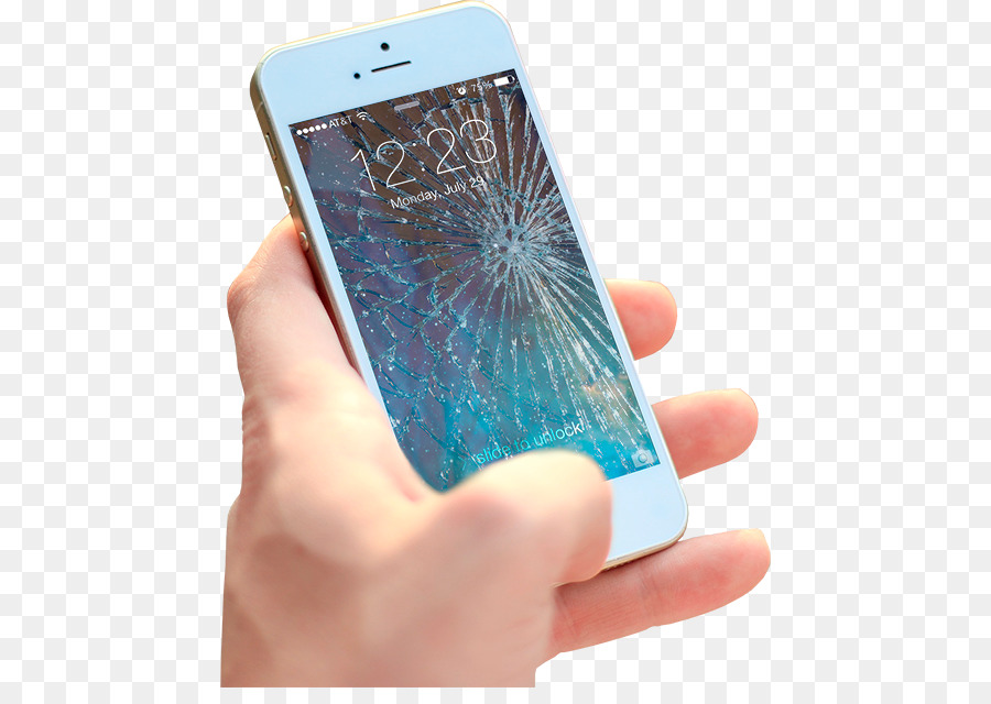 cracked phone screen prank picture