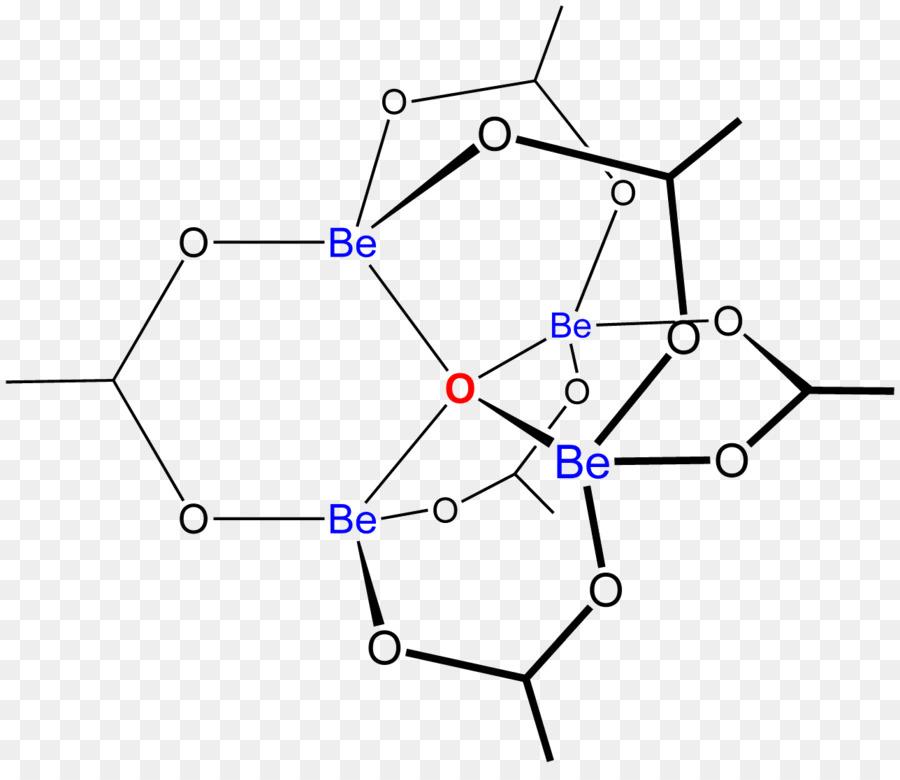 Basic Beryllium Acetat Zink Acetat Chemische Verbindung