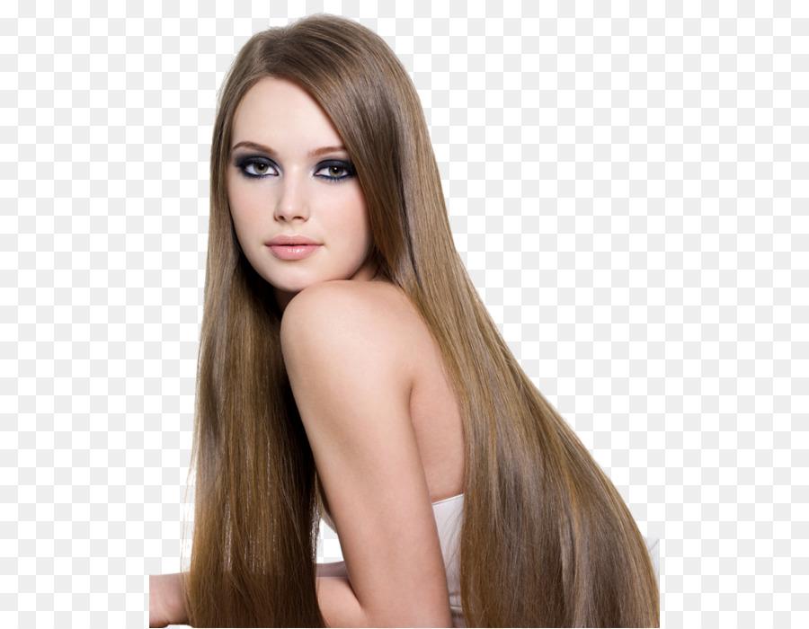 Peinado De Moda El Pelo Largo Salon De Belleza Cabello Png Dibujo