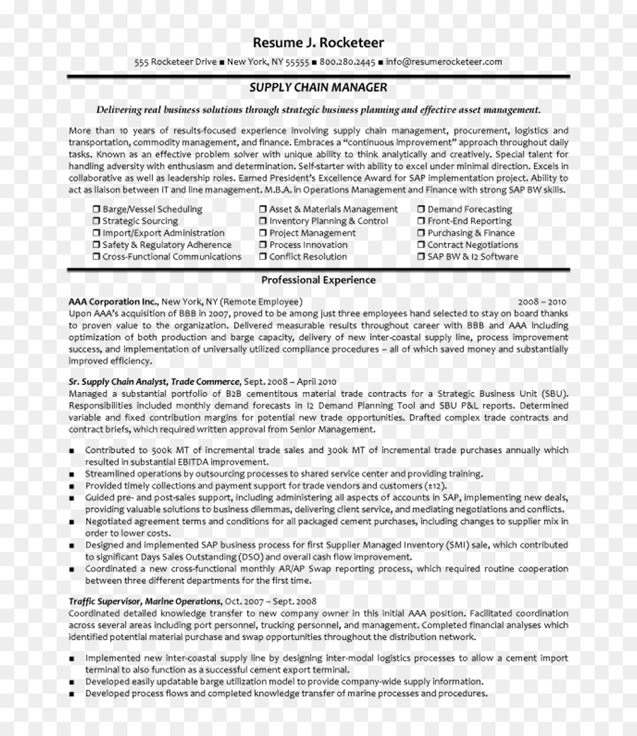 Purchasing Manager Cover Letter Procurement