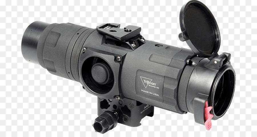 Thermal weapon sight zielfernrohr trijicon optics andere png