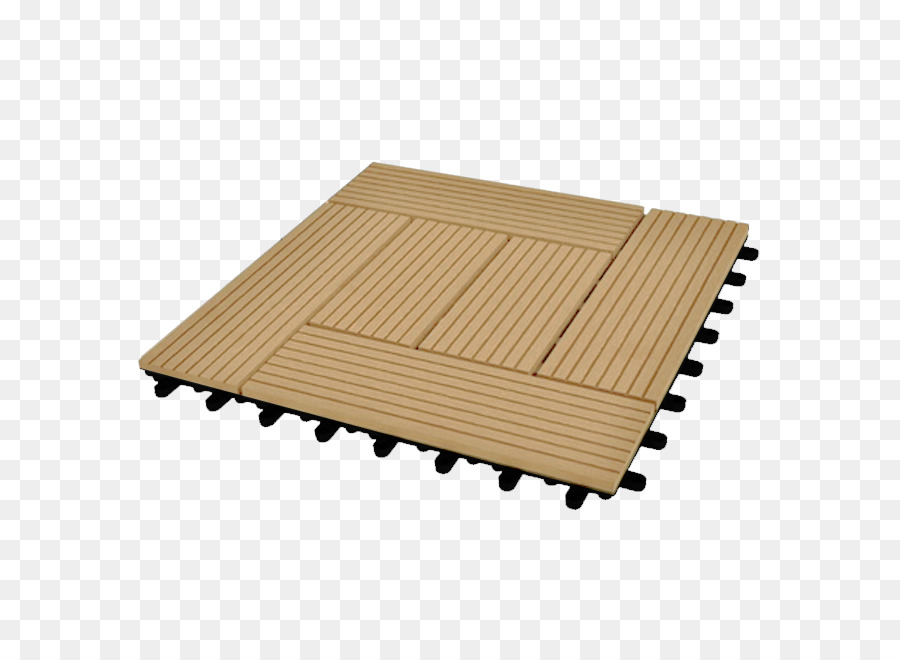 Wood Plastic Composite Tile Deck Square Meter Terrace   Wood