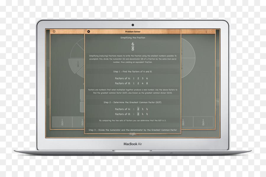Fracción Matemáticas máximo común divisor de Multiplicación de la ...