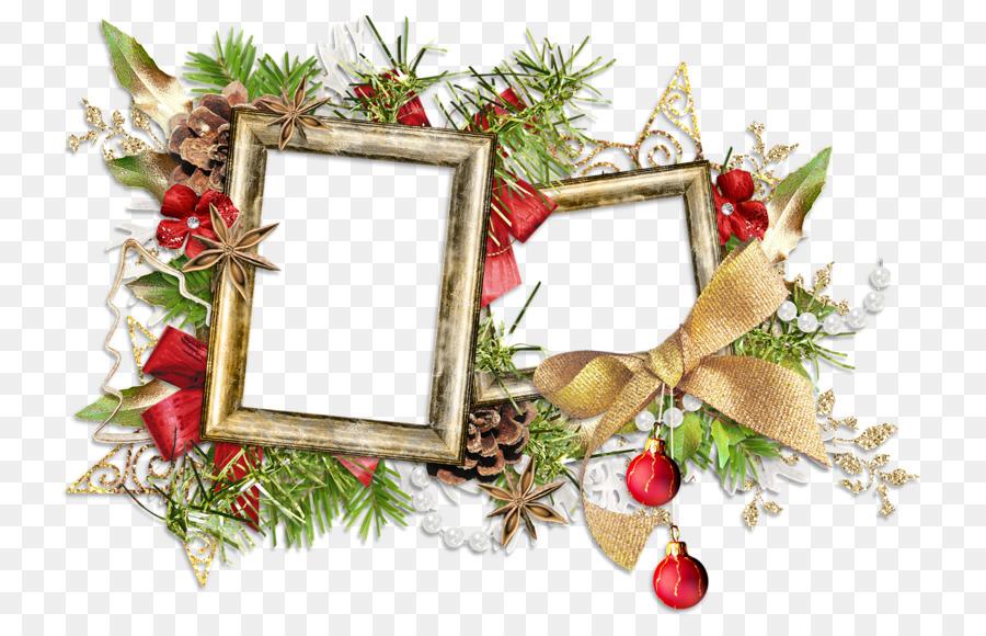 Marcos de fotos de Navidad, ornamento - otros Formatos De Archivo De ...