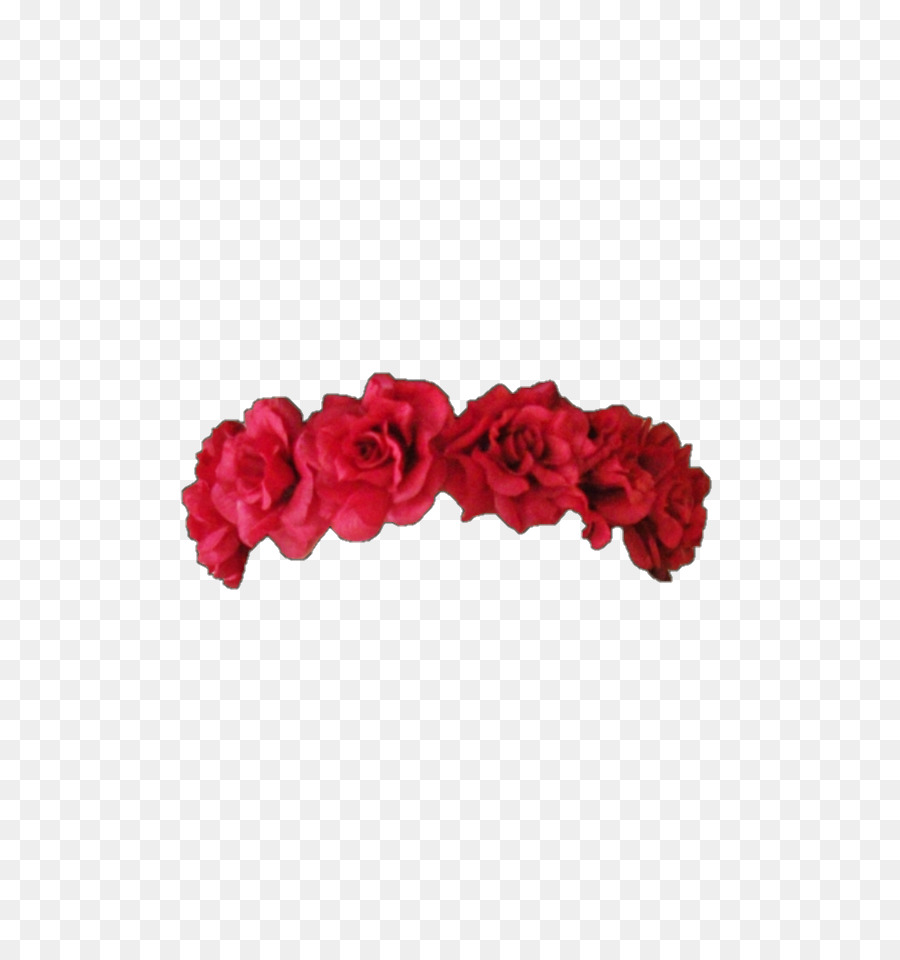 Wreath Flower Crown Red Headband Flower Png Download 540960