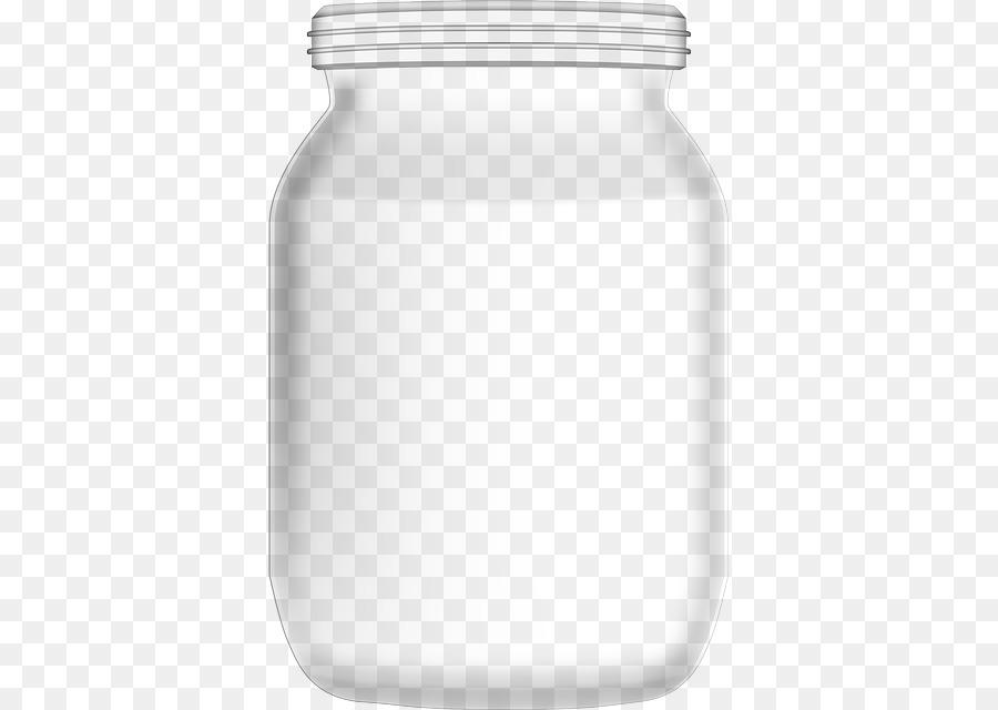 Glass Jar Empty Vase Png Download 415640 Free Transparent Lid
