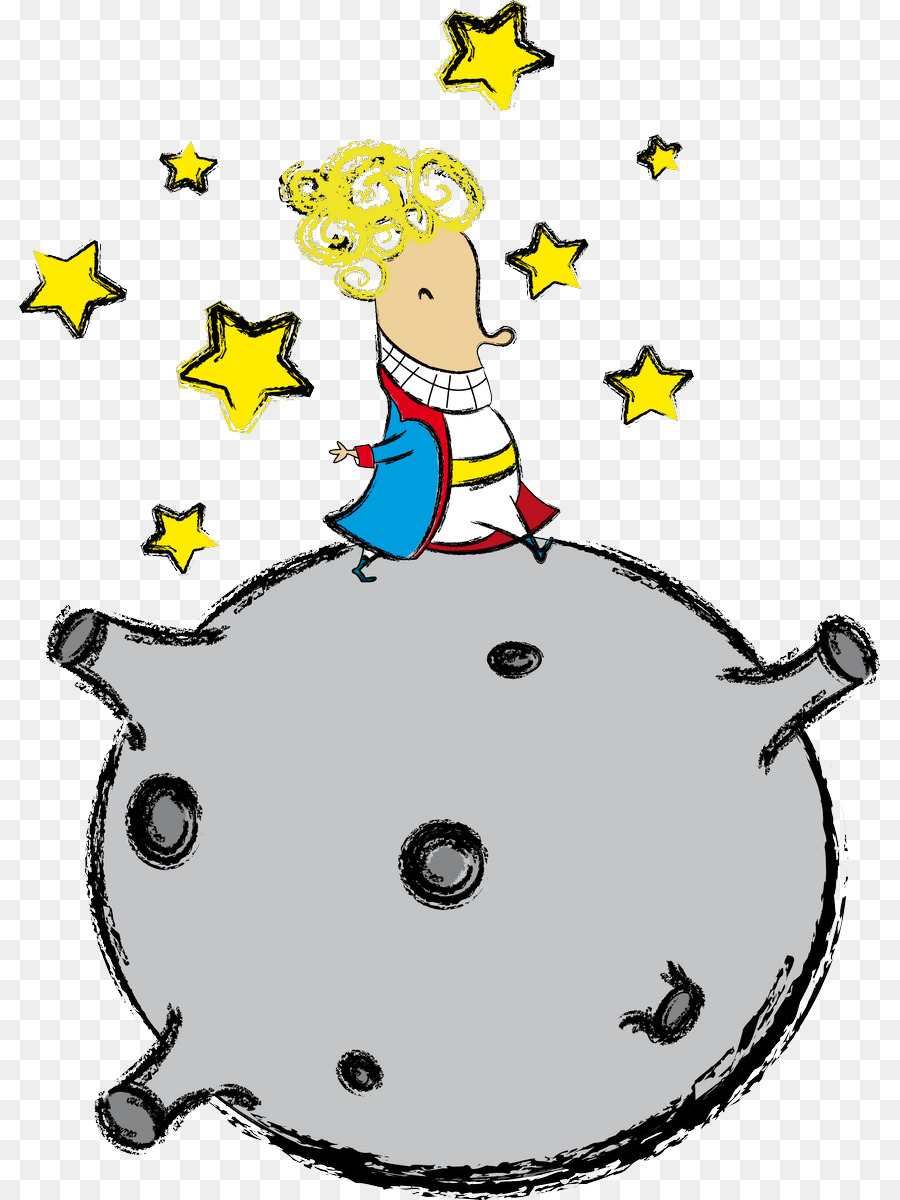 Illustrator, Cartoon, Little Prince, Organism, Line PNG