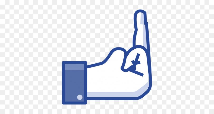 Middle Finger Facebook Inc Emoticon Facebook Png Download 1024