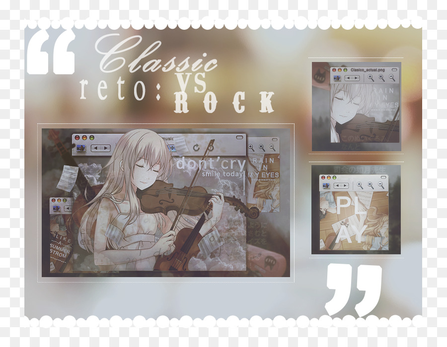 Picture Frames Calendar - shigatsu wa kimi no uso png download - 801 ...