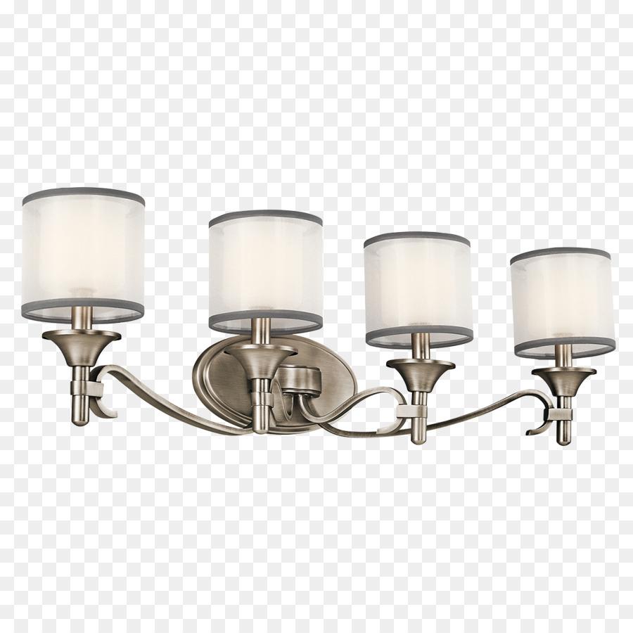 Light fixture Bathroom Lighting Sconce - light fixtures png download ...