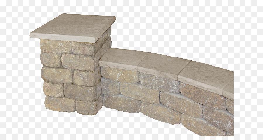 En la pared de piedra de la columna de afrontamiento la valla de piedra png dibujo - Vallas de piedra ...