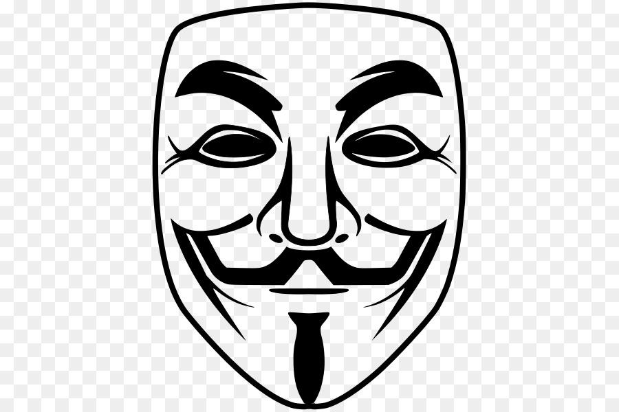 Gerakan Menduduki Anonim Buku Mewarnai Topeng Guy Fawkes Jempol
