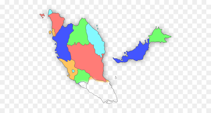Blank map World map Malaysia - south east asia map png download ...