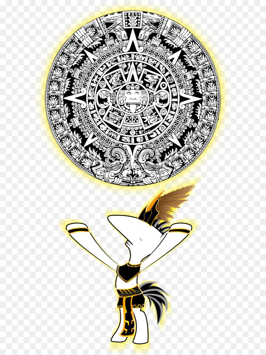 Piedra del calendario azteca civilización Maya - azteca Formatos De ...