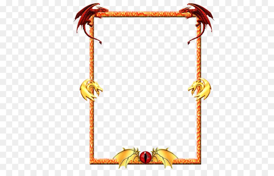 Line - dragon frame png download - 1000*634 - Free Transparent Line ...