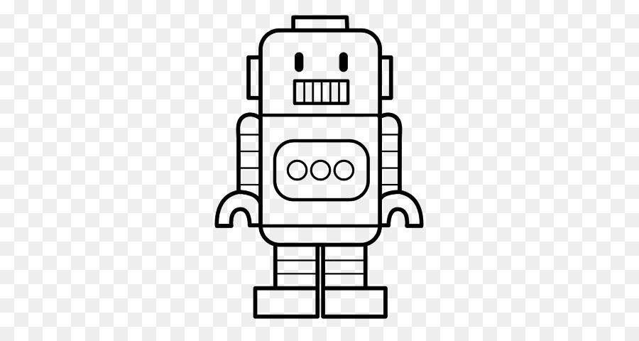 Tam Robot Boyama Kitabı Como Dibujar çizim Robot Png Indir 600