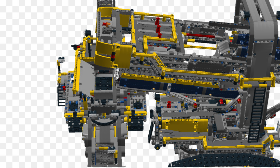 Lego Technic Maschinen Eimer Rad Bagger Lego 42055 Technic