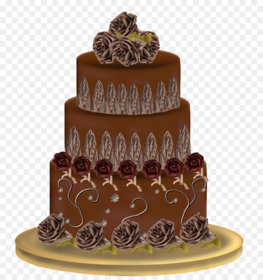 German chocolate cake Torte Wedding cake Layer cake - gateaux png ...