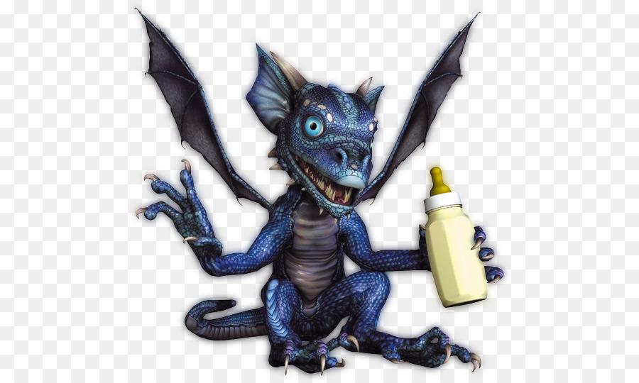 Dragon Bleu Animal dragon's prophet baby bottles azuro le dragon bleu infant - terror