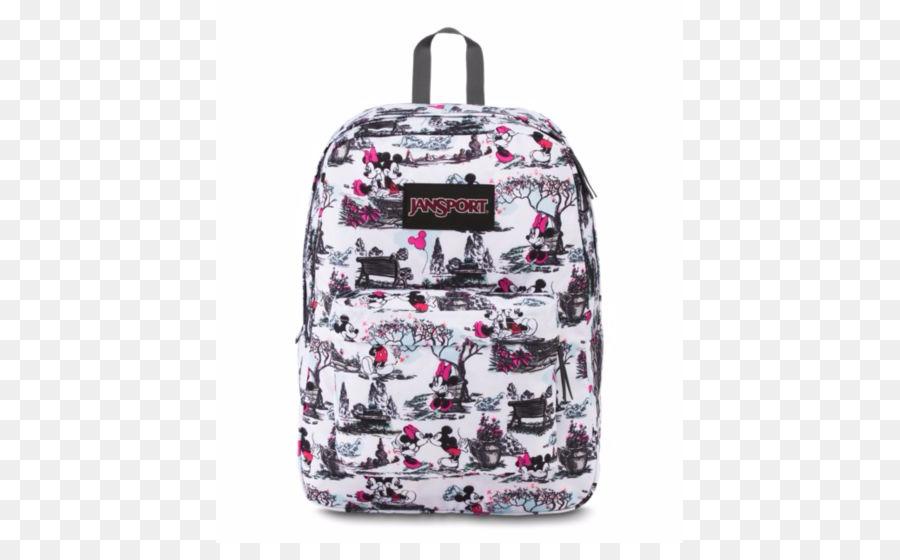 63d87359df7 Walt Disney World Minnie Mouse JanSport SuperBreak Backpack - expression  pack material png download - 543 543 - Free Transparent Walt Disney World  png ...