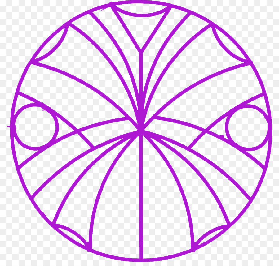 Buku Mewarnai Mandala Geometri Suci Unduh Ungu Daun Lingkaran
