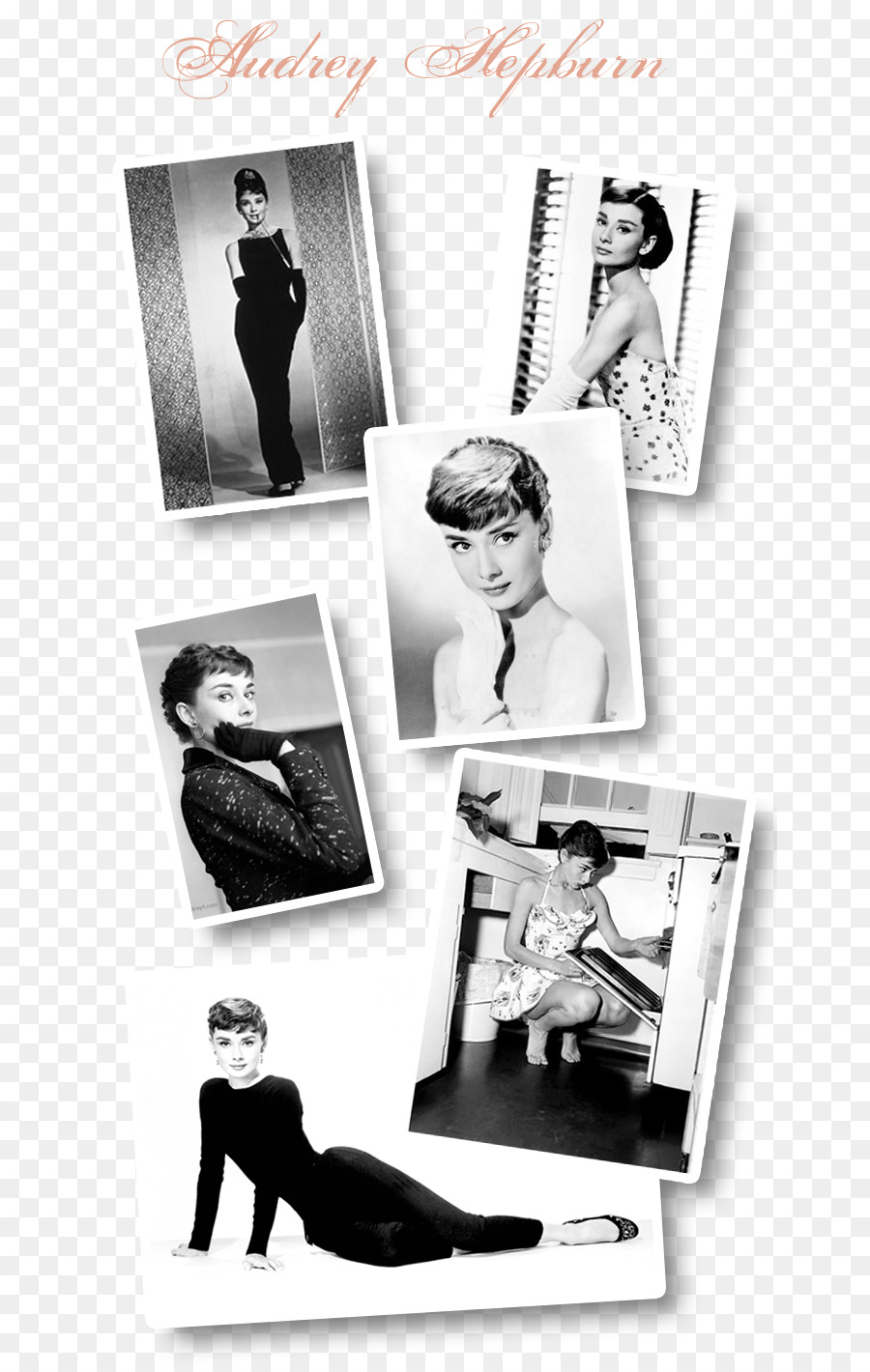 Paper Picture Frames - audrey hepburn png download - 709*1417 - Free ...