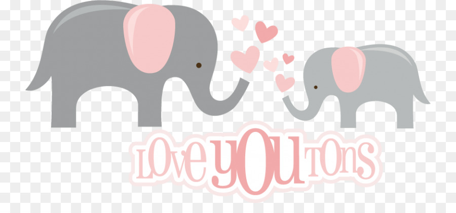 Indian Elephant African Elephant Clip Art Elephant Baby Shower Png