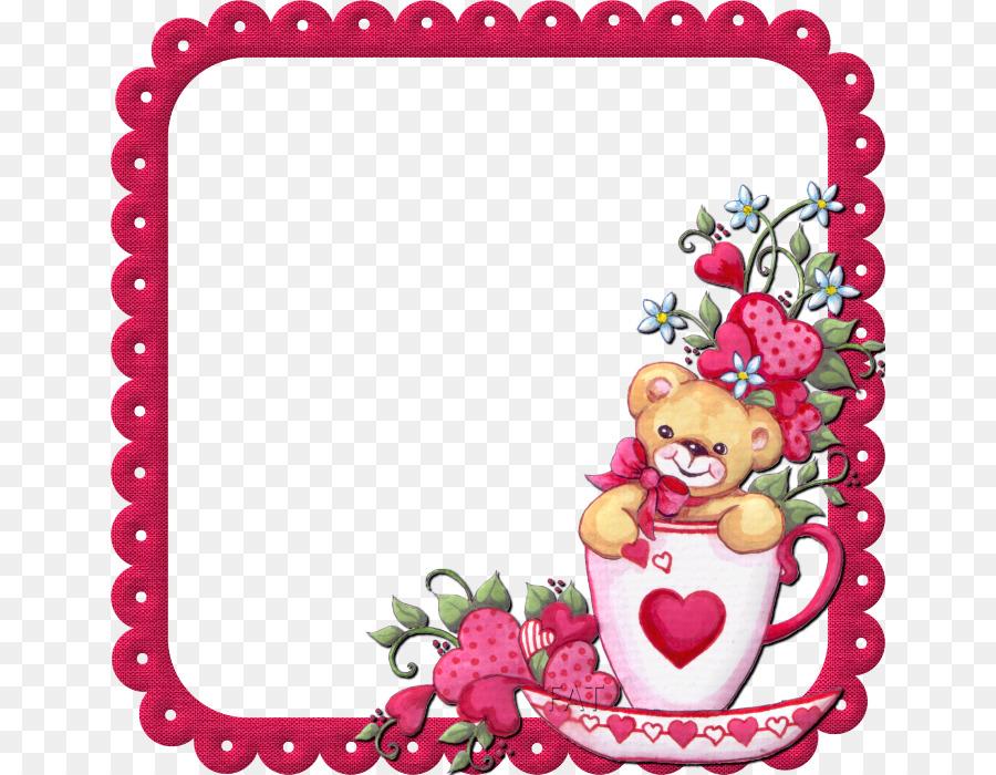 Love Picture Frames Flower - Marcos INFANTILES Formatos De Archivo ...