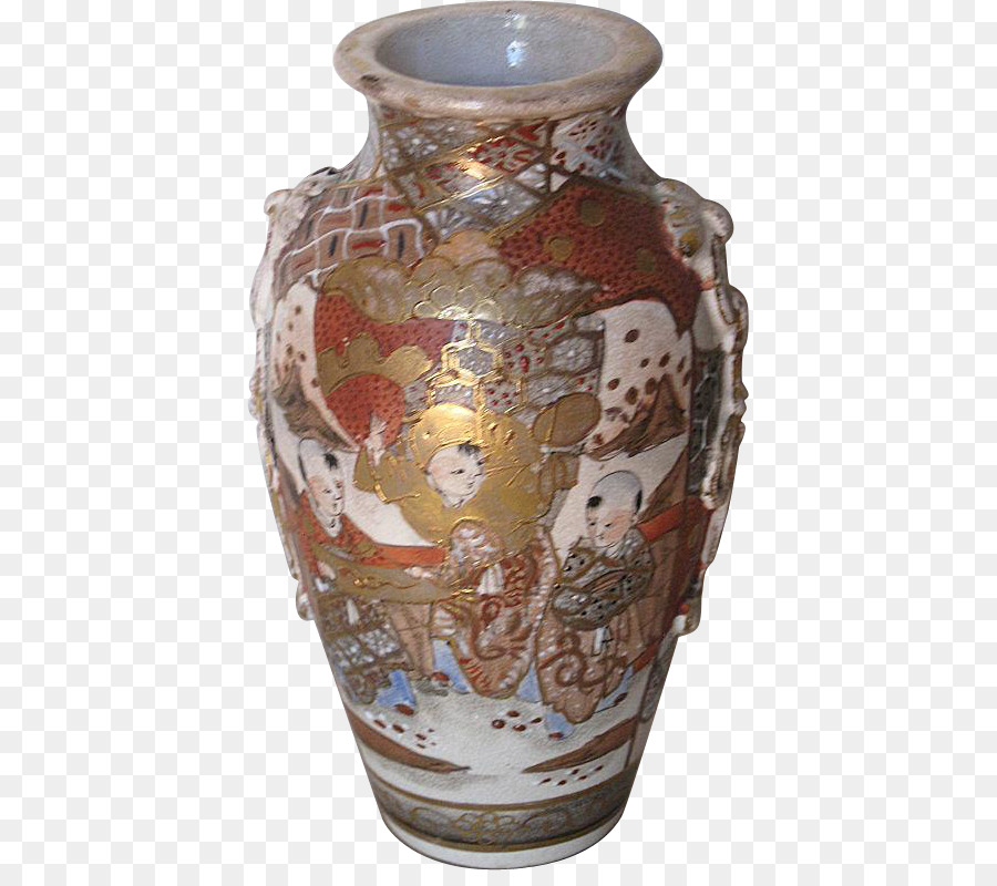 Satsuma Ware Ceramic Vase Pottery Teapot Vase Png Download 786