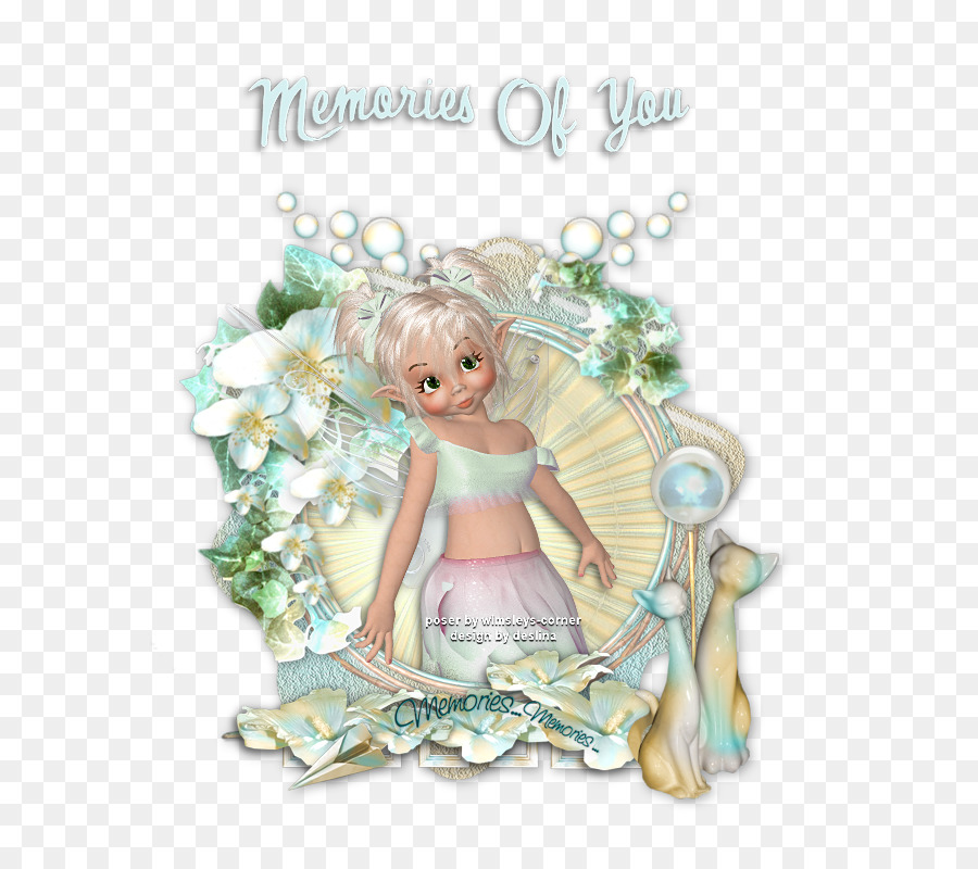 Picture Frames Figurine Turquoise Angel M - ins png download - 800 ...