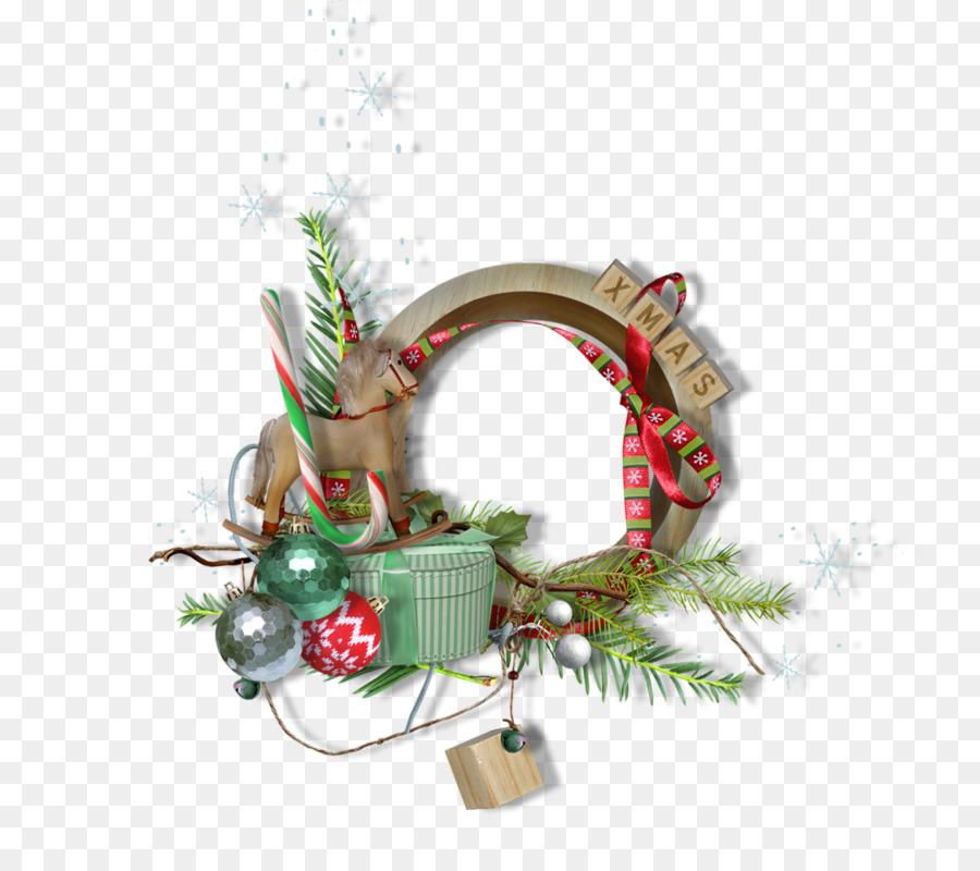Christmas Ornament Picture Frames Santa Claus Christmas Decoration