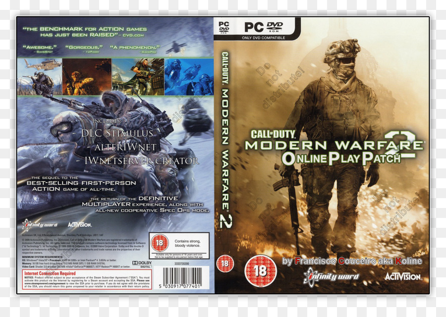Call Of Duty Modern Warfare 2 Technology png download - 1300