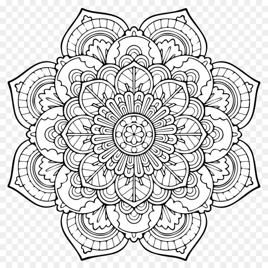 Mandala Mewarnai Buku Agama Buddha Dewasa Anak Mandala Unduh