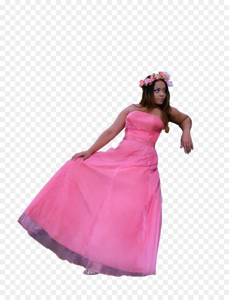 Vestido de Cóctel vestido de Hombro Rosa M - Bosque De Cuento De ...