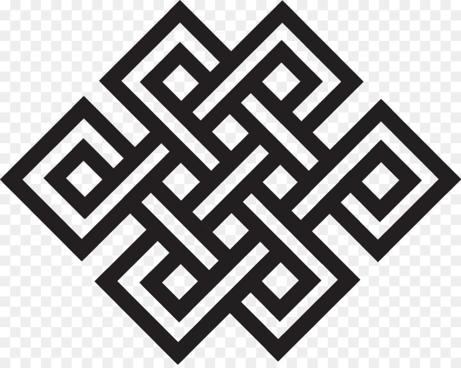 Tibet Endless Knot Buddhist Symbolism Buddhism Geometric Symbols